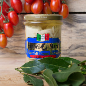 sapori mare ventresca tonno bianco olio oliva